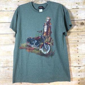 Harley Davidson T-shirt -SZ M